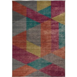 Farson Multi-Coloured Geometric Rug