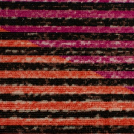 Farson Multi-Coloured Geometric Rug Pattern Detail