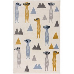 Marvin Meerkats Multicoloured Children's Rug