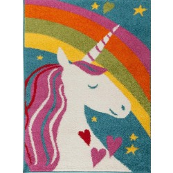 Ursula Unicorn Multicoloured Rug