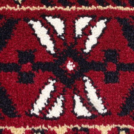 Bokhara Traditional Rug - Red Pattern detail