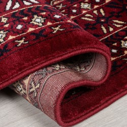 Bokhara Traditional Rug - Red Backing Detail