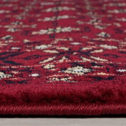 Bokhara Traditional Rug - Red Pile Thickness