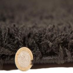 Kiruna Nordic Cariboo Shaggy Rugs - Black pile Thickness