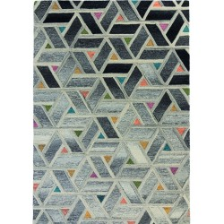 Moda Multicolour Geometric Rug