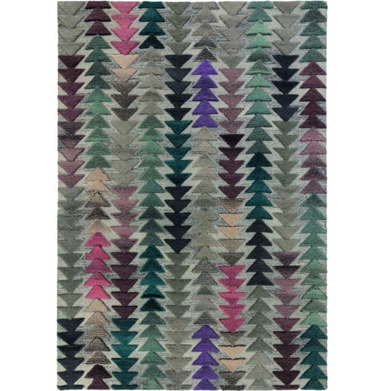 Archer Multicolour Geometric Rug
