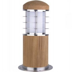 Olcott Steel /Teak Wood Mini Bollard