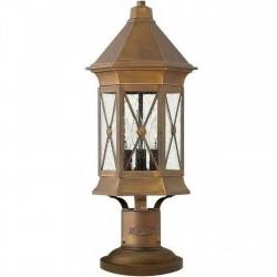 Talpa Brass Pedestal Light