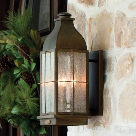 Talpa Vintage Brass Wall Lantern Wall image