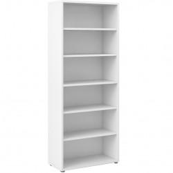 Prima Bookcase  5 Shelves - White