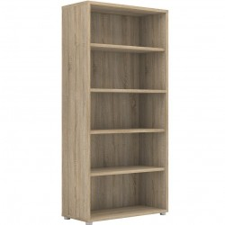 Prima Bookcase 4 Shelves - Oak