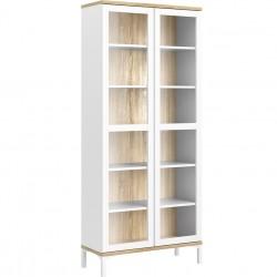 Rye Display Cabinet, white background