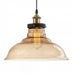 Factory glass dome pendant light harrogate factory glass dome pendant light aloadofball Gallery