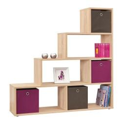 Topina Room Divider/Bookcase - Sonama Oak