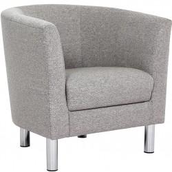 Elyria Armchair - Light Grey