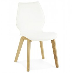 Pedazo Dining Chair Front Angle