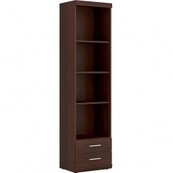 Imperial Tall Narrow Bookcase