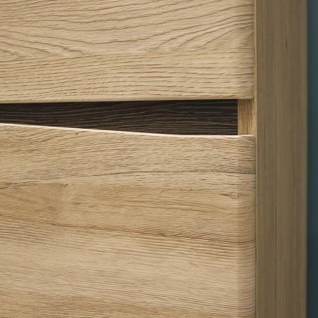 Kensington Tall Wide Two Door Wardrobe Door detail