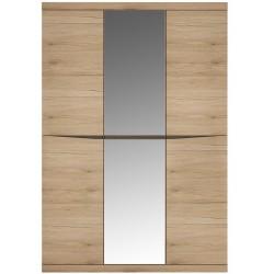 Kensington Wardrobe with Centre Mirror - Three Door