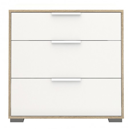 Arnum Chest of Three Drawers Front View