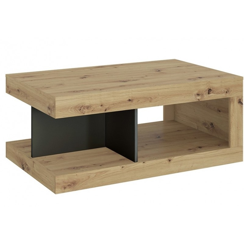 Luci Coffee Table Oak & Platinum