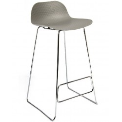 Galway High Stool with a Grey Seat