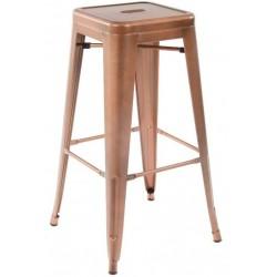 tolix copper bar stool