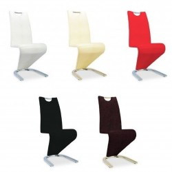 Piquet Designer Dining Chairs Pack of 2 Various colour combinations