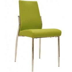 Hectoria dining chair in green