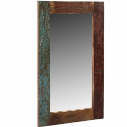 Funki Coastal Rectangular Mirror Frame