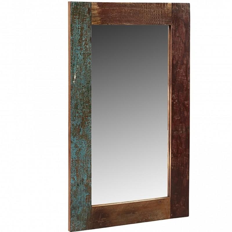 Funki Coastal Rectangular Mirror Frame