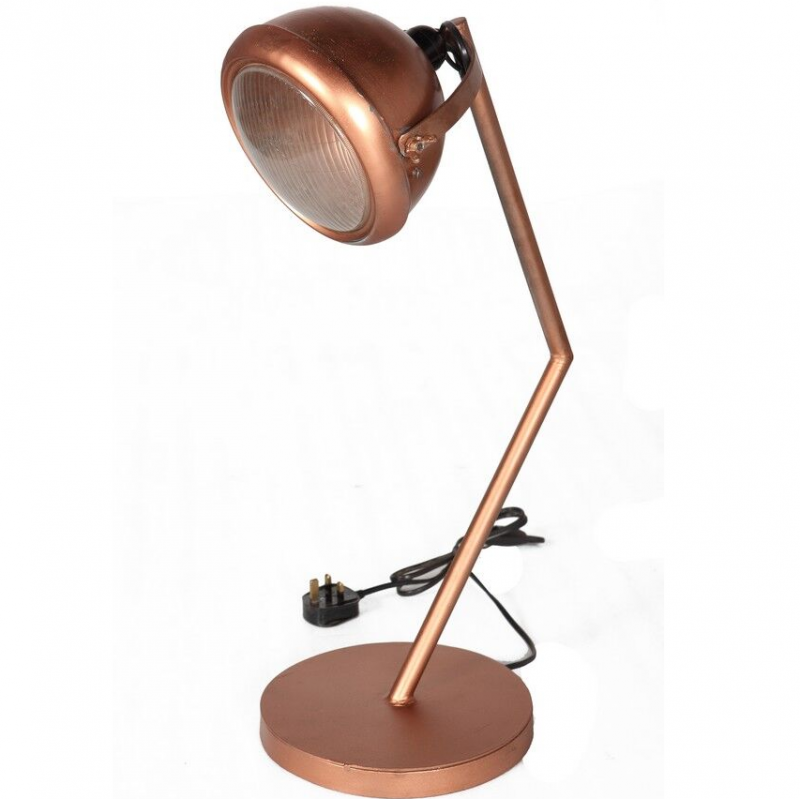 Panna Copper Lamp Stand, white background