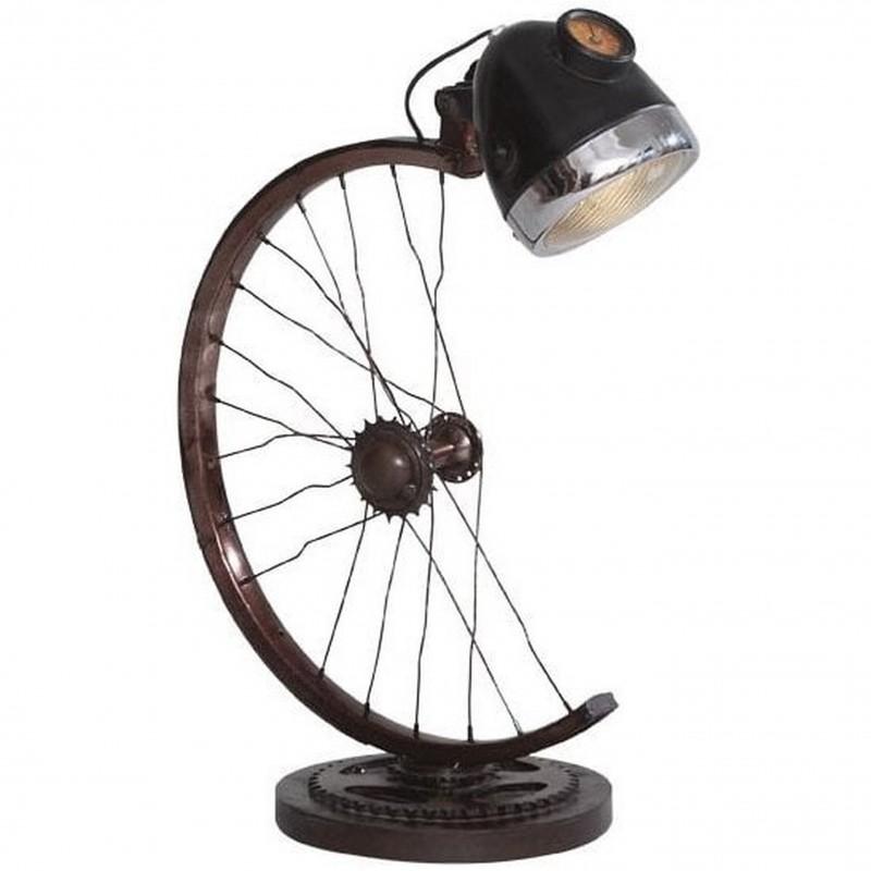 Karwa Half Cycle Wheel Lamp, white background
