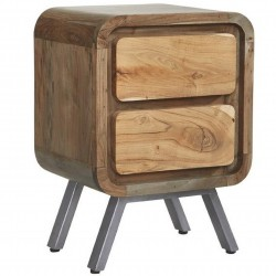 Linford 2 Drawer Lamp Table