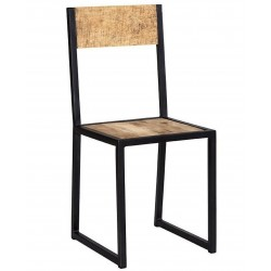 Kinver Industrial Metal & Wood Chair
