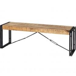 Kinver Industrial Metal & Wood Bench