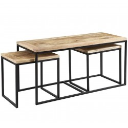 Kinver Industrial Coffee Table Set