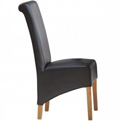 Bidar Leather Dining Chair