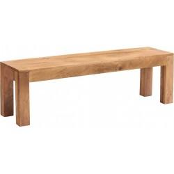 Bidar Light Mango Wooden Dining Bench