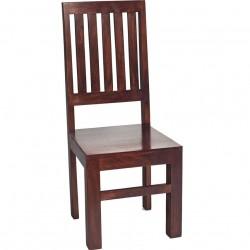 Indore Dark Mango Wooden Chair