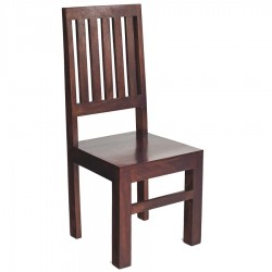 Indore Dark Mango Slat Back Chair