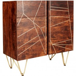 Tanda Dark Gold Medium Sideboard