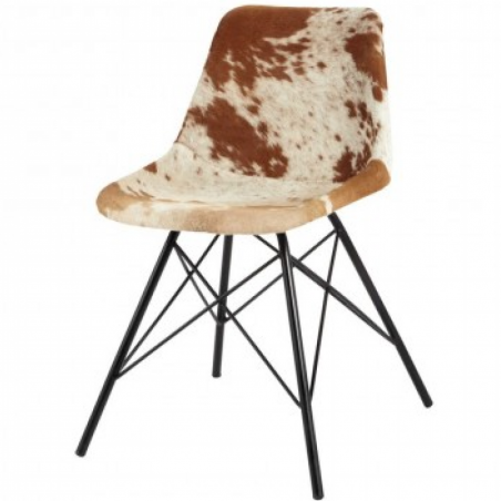 Angus Cowhide Dining Chair