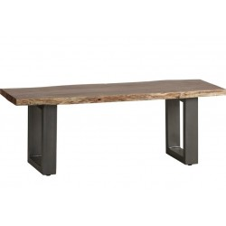Baltic Live Edge Dining Bench - medium