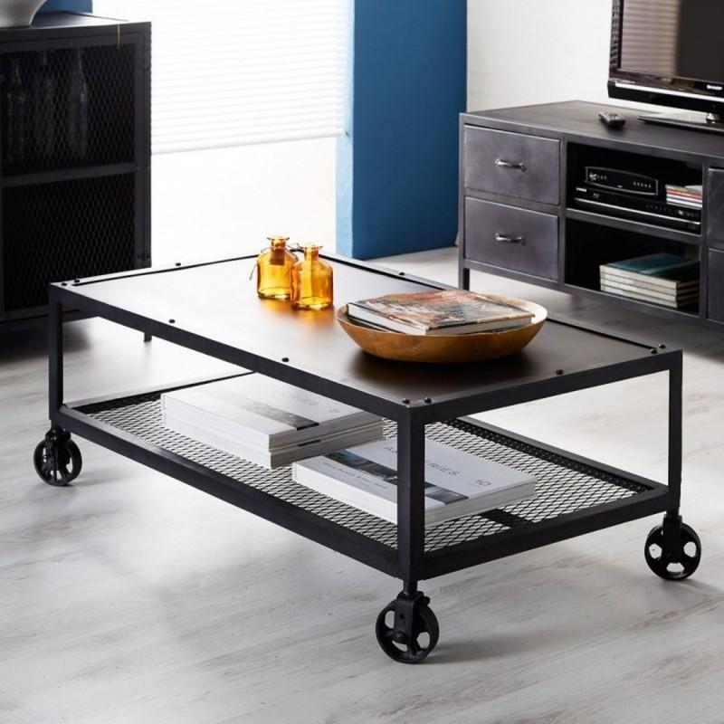 Metalica Iron Coffee Table