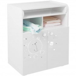 Changing board Cupboard With Storage