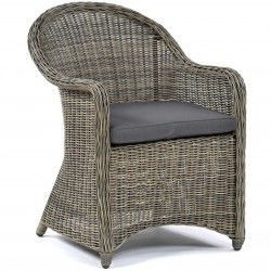 Sunfair 4 Seater Rattan Square Dining  Chair