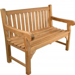 Berkeley Teak Garden Bench - Two Seater