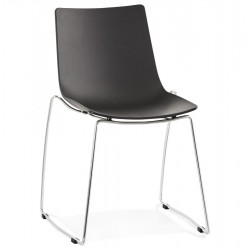 Curva Dining Chair Black