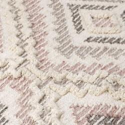 Catalina Geometric Rug - Blush Pattern detail